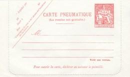CARTE PNEUMATIQUE 3.00F NEUVE CLPP 1971 - TDA170
