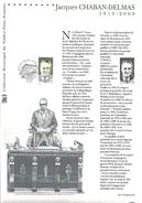 DOCUMENT 2001 JACQUES CHABAN-DELMAS - Postdokumente