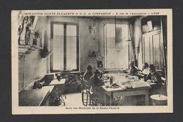 DD / 69 RHÔNE / LYON / MONASTERE STE-ÉLISABETH DE N-D DE COMPASION / SALLE DES MACHINES DE LA SAINTE-FAMILLE / 1939 - Lyon