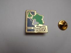 La Poste , Délégation Midi - Atlantique , Carte De France - Post