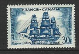 "YT 1035 "" Amitriés Franco-canadienne "" 1955 Neuf*"