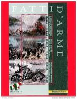 Nuovo - MNH - ITALIA - 2011 - Fatti D´arme - BF - 0,60 € × 3 (€) - Scene Di Battaglie - 6. 1946-.. República