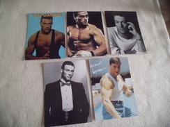 LOT DE 5 CARTES ...JEAN CLAUDE VANDAMME - Cartoline