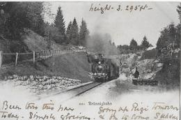 BRÜNIGBAHN → Dampfzug Beim Tunnel Vor Käppeliberg Anno 1905 ►BRÜNNIG MIT 2NN ►RRR◄ - BE Bern