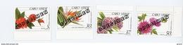 Cap Vert-Cabo Verde-1993-SPECIMENT-Fleurs,rose,cactus..-YT 643/6***MNH
