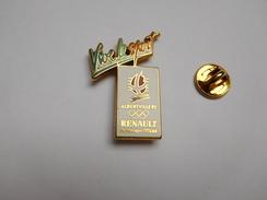 Beau Pin's En Zamac , JO Jeux Olympiques Albertville 92 , Auto Renault , Arthus Bertrand , Non Signé - Renault