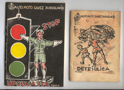 Vintage,Yugoslavia, Kids Manual And Test For Participants In The Traffic, 1958, Ca1-60 - Books, Magazines, Comics