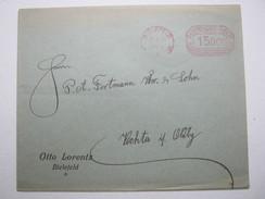 1923 , Bielefeld , Freistempel Auf Brief - Briefe U. Dokumente