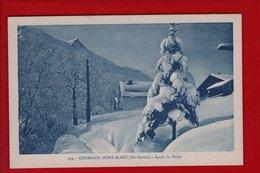 1 Cpa Chamonix  Apres La Neige - Chamonix-Mont-Blanc