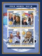 NIGER 2016 ** Physics Nobel Prize Duncan Haldane Thouless Kosterlitz M/S - OFFICIAL ISSUE - A1706