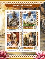 SOLOMON ISLANDS 2016 ** Mahatma Gandhi M/S - OFFICIAL ISSUE - A1706