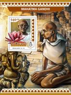 SOLOMON ISLANDS 2016 ** Mahatma Gandhi S/S - OFFICIAL ISSUE - A1706