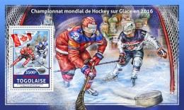 TOGO 2016 ** Ice Hockey Championship 2016 Eishockey Hockey Sur Glace S/S - IMPERFORATED - A1706