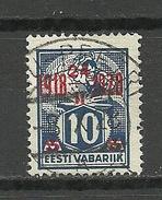 Estland Estonia 1928 Michel 70 O VIRU-PEETRI - Estonia