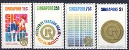 #Singapore 1973. Propaganda. Michel 170-73. MNH(**) - Singapur (1959-...)