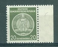 D.D.R. - Mi Nr 37 I A - Dienstmarken A - MNH** - Cote 25,00 € - Dienstzegels