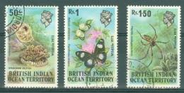 British Indian Territory (BIOT): 1973   Wildlife (Series 1)   Used - British Indian Ocean Territory (BIOT)
