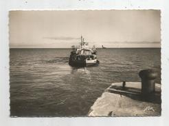 G-I-E , Cp , 17 , ILE DE RE - SABLANCEAUX , Départ Du NEW - ROCHELLE Pour La PALLICE , Voyagée 1951 - Ferries