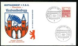 Berlin 1964: Mi.-Nr. 247:  FDC Deutsche Bauwerke       (G001) - FDC: Sobres