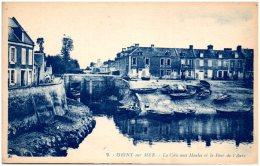 14 ISIGNY-sur-MER - La Cale Aux Moules Et Le Pont De L'Aure - (Recto/Verso) - Autres Communes