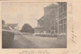 Evergem  Ingang Van Het Dorp 1912