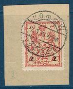 WARSZAWA - VARSOVIE Michel N°7 Expertisé Sur Fragment (2) - Poste Locale - ....-1919 Provisional Government