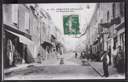 CPA 12 - Réquista, La Grande-Rue - Francia