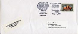 USA - UNITED STATES - WESSINGTON  WARRIORS  -  CAPO INDIANO - American Indians