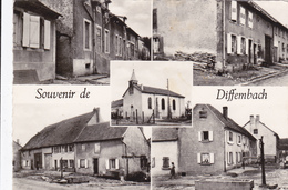 CPSM   Souvenir De DIFFEMBACH 57 - Other Municipalities