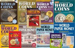 Krause Standard Catalogs Catalogue World Coins (5 Vol) + Paper Money (3 Vol) Pdf - Banconote