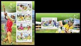 TOGO 2014 - Cricket - YT 4278-81 + BF934; CV = 31 €