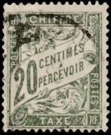 FRANCE - Scott #J32 Numeral (*) / Used Stamp - Postage Due