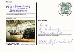 NPP 154 C2/5 NAPOSTA´93 Zeche Zollern II, Dortmund 13 - Privatpostkarten - Gebraucht