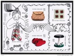 2015 Finland, Craft Art Miniature Sheet MNH.