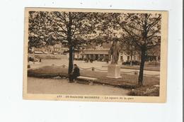 ST NAZAIRE MODERNE 177 LE SQUARE DE LA GARE 1938 - Saint Nazaire