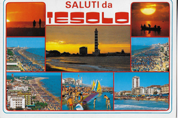 VENETO - IESOLO - VEDUTE VARIE - VIAGGIATA 1989 PER LA SVIZZERA - Italia