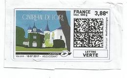 France,Mon Timbre En Ligne, Région Centre Val De Loire 2017