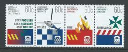 Australia 2010 Emergency Services Strip Of 4 MNH - 2000-09 Elizabeth II