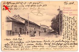 ALBA IULIA / GYULAFEHÉRVAR : GRUSS Aus KARLSBURG - DEAK FERENCZ UTCA - ANNÉE / YEAR ~ 1900 - RARE !!! (v-600) - Rumänien