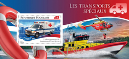 TOGO 2014 - Special Transport, Helicopter - YT BF945; CV = 14 €