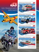 TOGO 2014 - Special Transport, Police - YT 4322-5; CV = 17 €