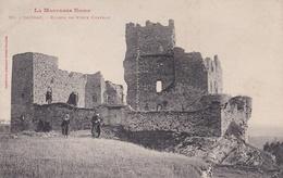 CPA  De  SAISSAC  (11)  -  Ruines  Du  Vieux  Château   //  TBE - France