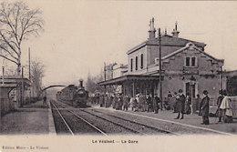 Le Vésinet - La Gare - Belle Animation          (PA-15-130127) - Le Vésinet
