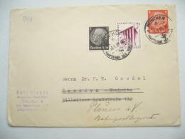 1939 , 8 Pfg. Privatganzsache  Verschickt - Allemagne