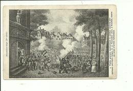 Esschen Essen Vieille Gravure Représentant Le Combat Du 20 Novembre 1830 - Essen