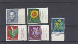 Suisse - Neufs**  -  Pro Juventute - Année 1961 - YT 684/688