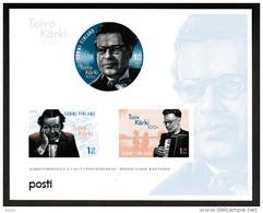 2015 Finland Miniature Sheet Toivo Kärki MNH **.
