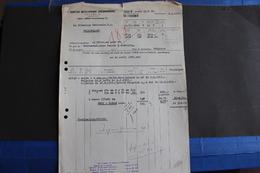 Fac-143 / Comptoire Métalurgique Luxembourgeoise, Columeta / Usine : ARBED Dommeldange - Luxembourg 6-3-1952 - Lussemburgo