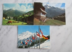 Santa Caterina Valfurva 3 Cartoline Anni 70 - Sondrio