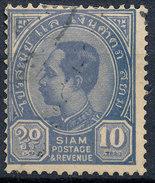Stamp  THAILAND,SIAM 1889 10a Scott#84 Lot#98 - Siam